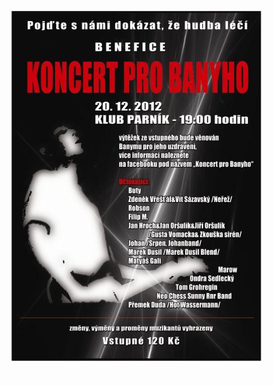 Koncert pro Banyho